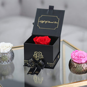 Eternal Roses® Mini Gift Box & Necklace Bundle - Exclusive Valentine's Day Gift for Her