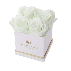Eternal Roses® White / Mint Mother's Day New Limited Edition Lennox Small Gift Box