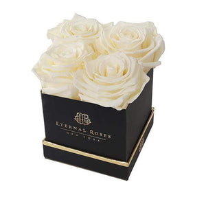 Eternal Roses® Black / Canary Mother's Day New Limited Edition Lennox Small Gift Box
