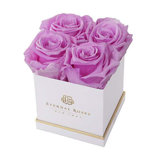 Eternal Roses® White / Iris Mother's Day New Limited Edition Lennox Small Gift Box