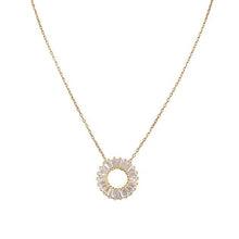 Eternal Roses® Round Baguette Necklace