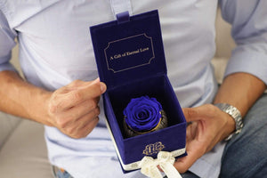 Eternal Roses® Royal Blue Gift Box