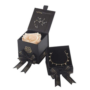 Eternal Roses® Sagittarius Astor Box & Necklace Bundle