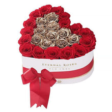 Eternal Roses® White / Be Mine Serafina Mezzo Eternal Rose Gift Box - NEW