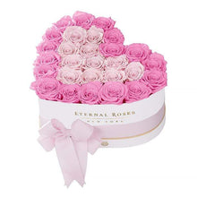 Eternal Roses® White / Primrose Serafina Mezzo Eternal Rose Gift Box - NEW