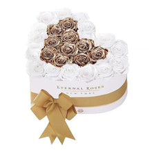 Eternal Roses® White / Baroque Serafina Mezzo Eternal Rose Gift Box - NEW