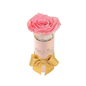 Eternal Roses® Single Rose Gift Shimmery Pink / Amarylis Shimmery Liberty Eternal Rose Gift Box for BFCM