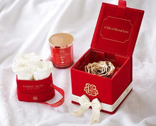 Eternal Roses® Soho Classic Red Velvet Gift Box - Cute Valentine's Day Gifts