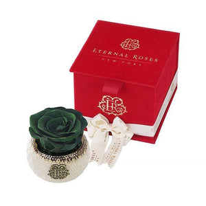 Eternal Roses® Wintergreen Soho Classic Red Velvet Gift Box - Cute Valentine's Day Gifts