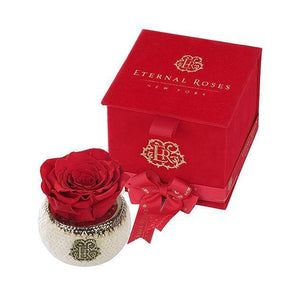 Eternal Roses® Scarlet Soho Classic Red Velvet Gift Box - Cute Valentine's Day Gifts