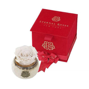 Eternal Roses® Pearl Soho Classic Red Velvet Gift Box - Cute Valentine's Day Gifts