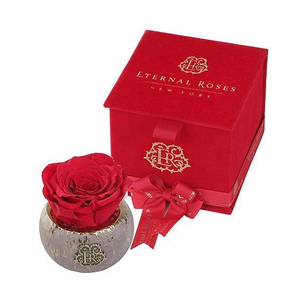 Eternal Roses® Scarlet Tiffany Red Velvet Gift Box - Valentine's Day Gift