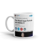 Elon Musk buys Fortnite ur welcome @elonmusk