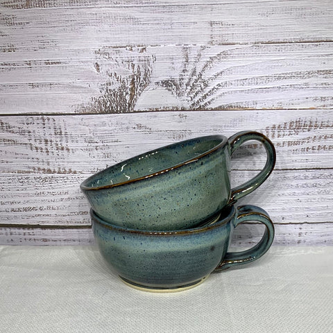 Mug Bowl - Antique Blue