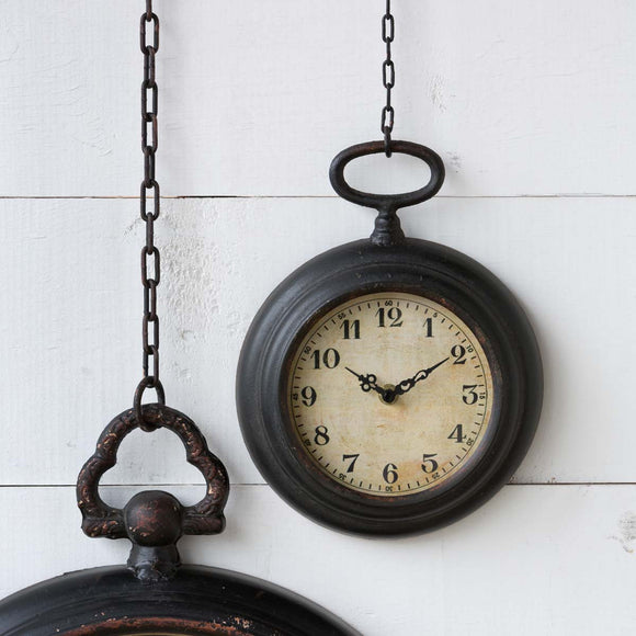 Pocket Watch Wall Clock - Small
