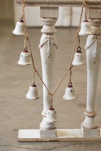 "White Bell Garland- 54"" Long"