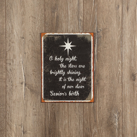 Holy Night Sign