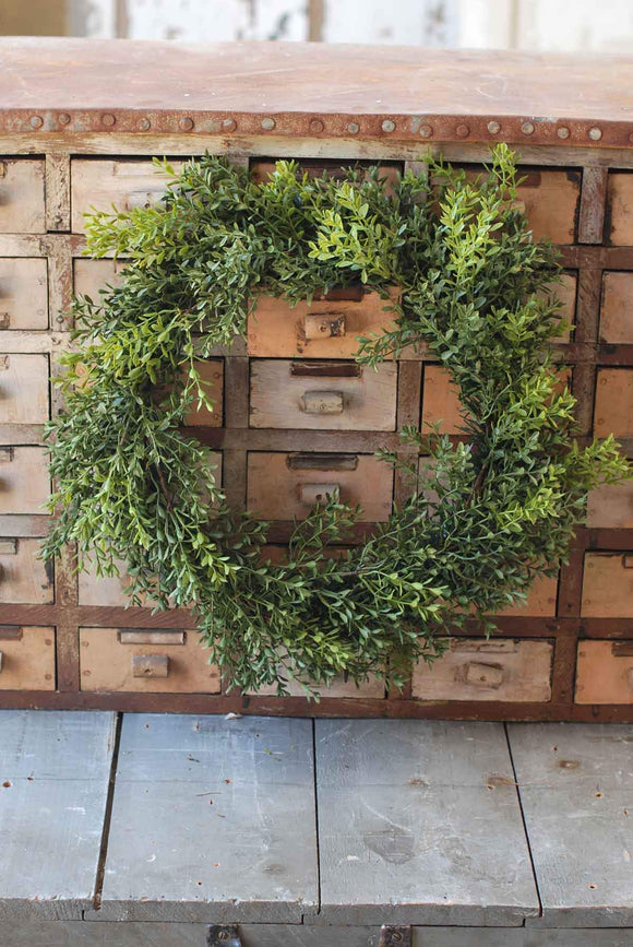 Boxwood Wreath 22""