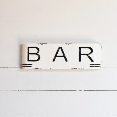 Bar Marquis Sign