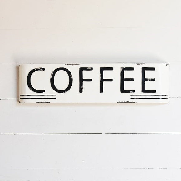 Coffee Marquis Sign 24""