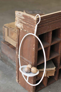 Hanging Halo Candle Stand 22""