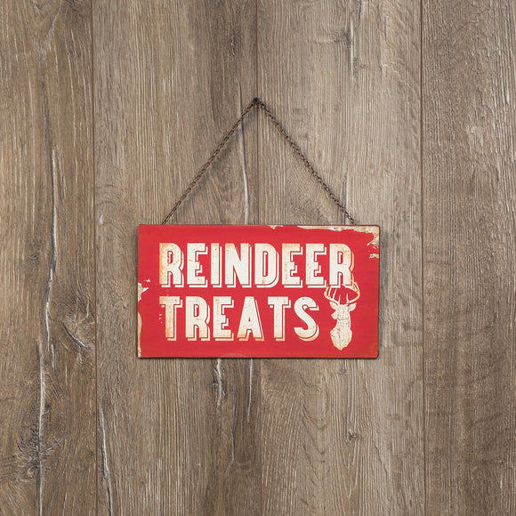 Reindeer Treats Sign