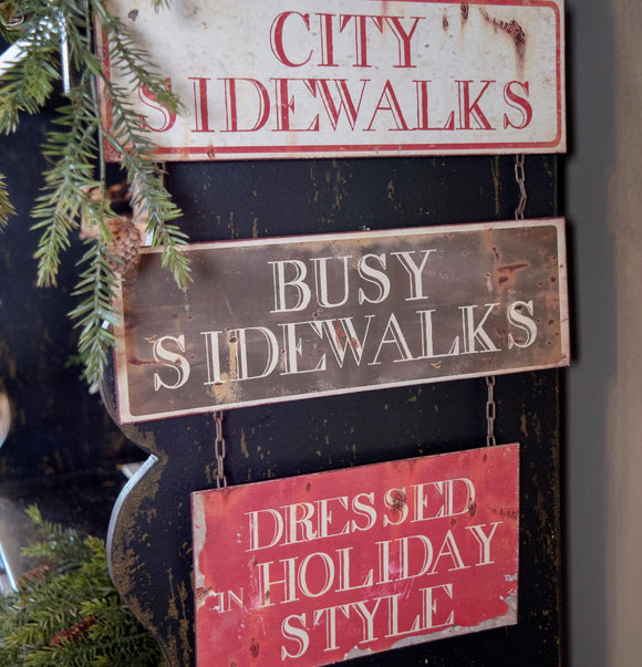 City Sidewalks Sign