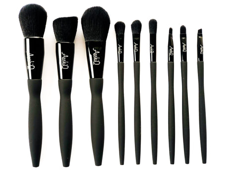 """Noir"" Premium Brushes"