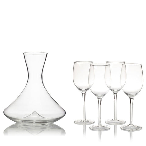 R.Croft Cabernet Decanter Gift Set (5 Pieces)