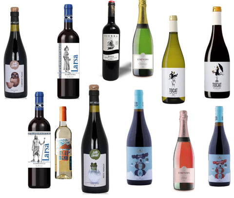 12 Bottle Spanish Wine Special - Additional 10% Off Already Great Value Wines & Free Shipping!