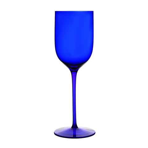 Ravenscroft Classics Long Stem Mineral Water Glass, Cobalt Blue (Set of 4)