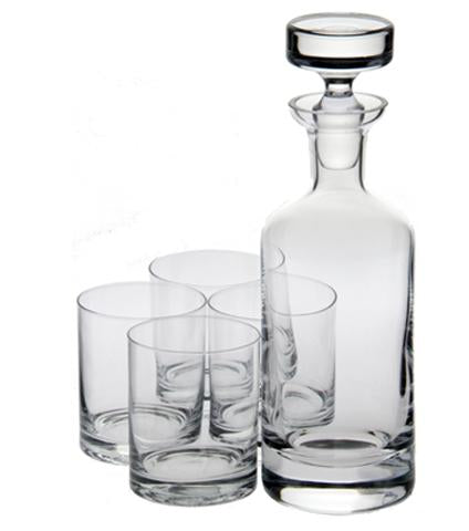 Ravenscroft Crystal Wellington Double Old Fashioned Decanter Gift Set