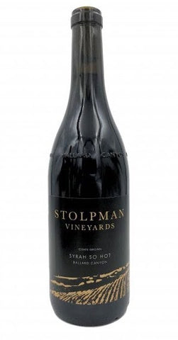 Stolpman Syrah 'So Hot' 2017 (Sans Soufre)
