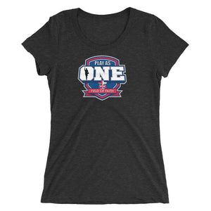 Basketball Field of Faith Ladies' short sleeve t-shirt