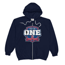 Load image into Gallery viewer, Basketball Field of Faith Unisex  Zip Hoodie