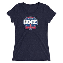 Load image into Gallery viewer, Basketball Field of Faith Ladies' short sleeve t-shirt