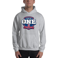 Load image into Gallery viewer, Football Field of Faith Hooded Sweatshirt