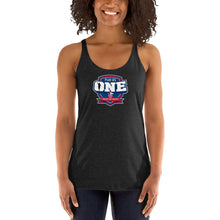Load image into Gallery viewer, Football Field of Faith Women's Racerback Tank