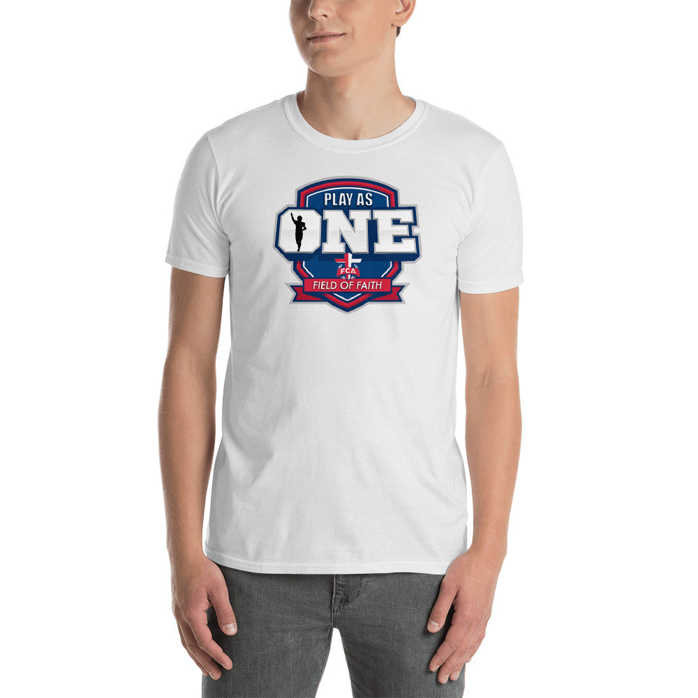 Football Field of Faith Short-Sleeve Unisex T-Shirt