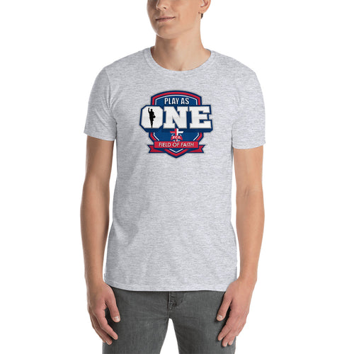Basketball Field of Faith Short-Sleeve Unisex T-Shirt