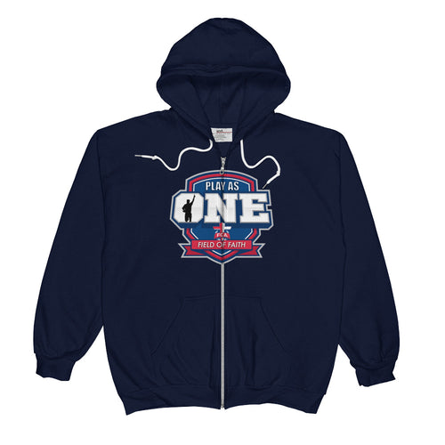 Field of Faith Unisex  Zip Hoodie