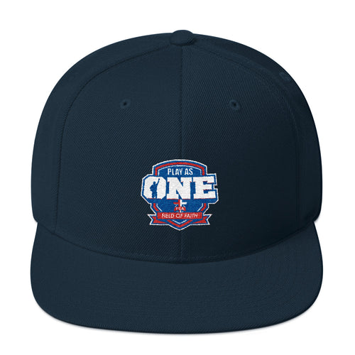 Play as One Snapback Hat