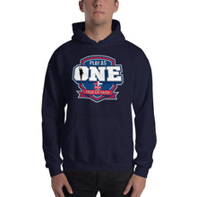 Load image into Gallery viewer, Basketball Field of Faith Hooded Sweatshirt