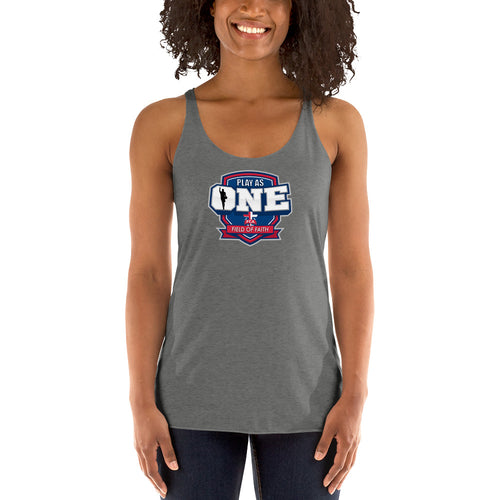 Basketball Field of Faith Women's Racerback Tank