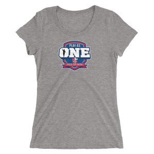 Football Field of Faith Ladies' short sleeve t-shirt
