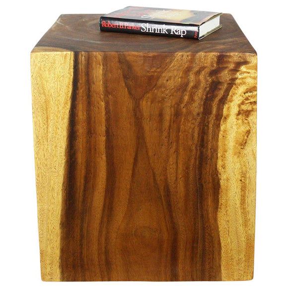 Haussmann Convertible Wood Cube Accent Tables (1)