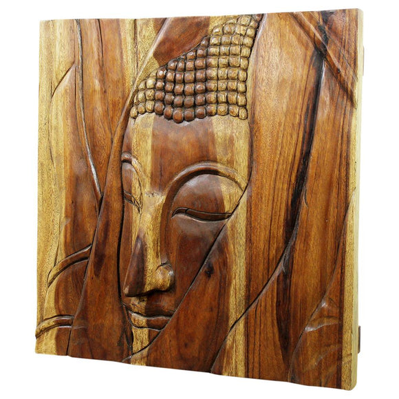 Haussmann® Forest Dweller Ayutthaya Panel 24 x 24 x 2.75 in TH - Haussmann Inc