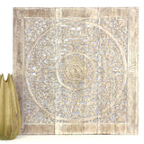 Haussmann® Lotus Square Wall Panel 36 In X 36 In Sand Washed
