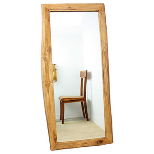 "Haussmann® Mirror Furniture Mirror Teak, 48"" x 22"""