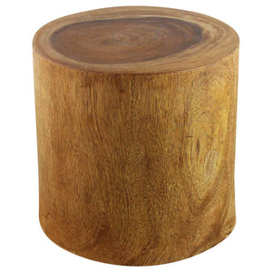Haussmann® MP Stump ET 19 in D Top x 20 in D Base x 18 in H Walnut
